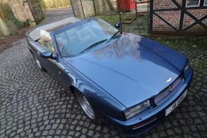 STUNNING ASTON MARTIN VIRAGE VOLANTE CONVERTIBLE AUTO CHICHESTER BLUE  Photo