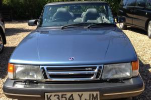 1993 SAAB 900 T 16S CONVERTIBLE BLUE