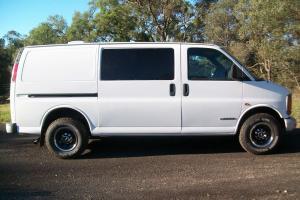 Chevrolet G3500 Express VAN RHD Only 51000km 10mths Rego in Sydney, NSW