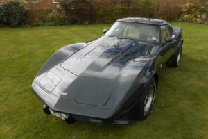 CHEVROLET CORVETTE RARE 1979 FACTORY L82 CAR WITH FACTORY SPOILER PACKAGE.