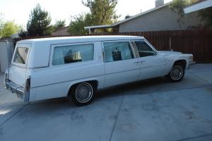 Special Cadillac Fleetwood Superior Hearse 3 WAY Elect Loader Limo Body Funeral in Melbourne, VIC