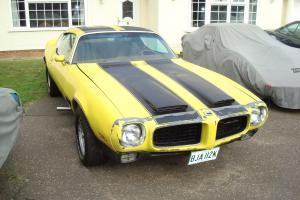 1972 PONTIAC FIREBIRD ESPRIT 6.6/V8 AUTO (BULLNOSE)