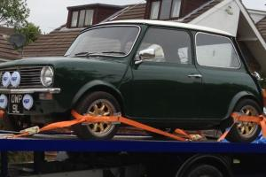 1972 tax free classic mini clubman 1275 Fully Restored two owners