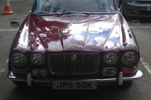 1972 S1 Jaguar XJ6 4.2 auto. Regency red/biscuit.