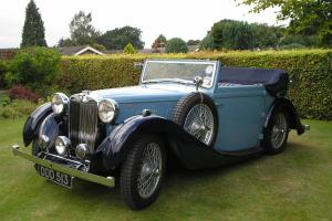 1938 MG VA SALMONS TICKFORD DH COUPE, 2013 TROPHY WINNER, VSCC ELIGIBLE