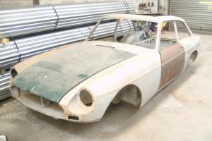 Classic MGB GT New Old Stock bodyshell tax exempt restoration project