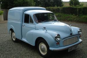 Austin Morris 1000 Van