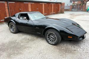 1975 CHEVROLET GMC CORVETTE BLACK