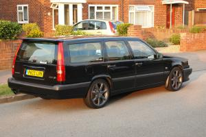 1996 Volvo 850R turbo Black auto FSH 124k genuine miles