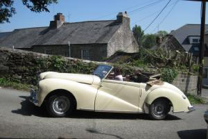 Healey Abbott Drophead with Suicide Doors