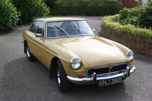 1972 MGB GT - Tax Exempt - 37,000 miles