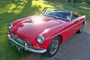 1963 MG/ MGF MGB Roadster Sports/Convertible 1800cc Petrol