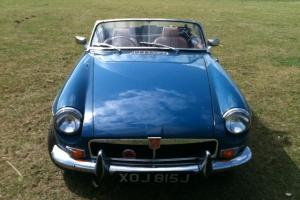 MGB ROADSTER TAX EXEMPT 1971 TEAL BLUE TAN INTERIOR READY TO ENJOY
