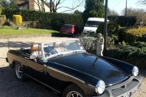 1977 MG MIDGET 1500 BLACK