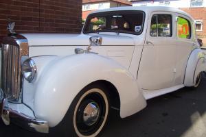 1953 ALVIS WHITE