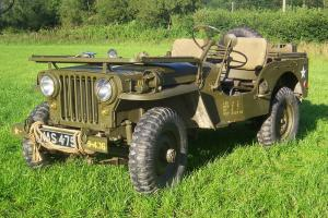 WILLYS JEEP M38 - 1952 RESTORED CONDITION
