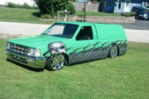 1989 mazda b 2200 mint truck air ride custom paint
