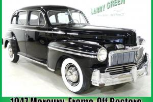 Classic Suicide Door 47 Mercury Eight Sedan Restored Daily Driver Ready Finance