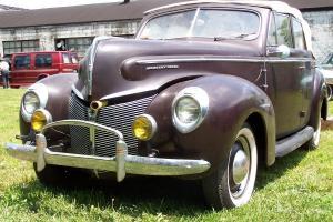 1940 Mercury Four Door Convertible Phaeton Flathead Solid Car Photo