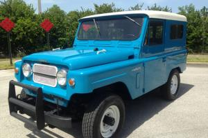 Super Rare and Restored 1964 Nissan Patrol