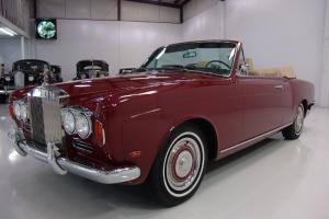 1969 ROLLS-ROYCE SILVER SHADOW CONVERTIBLE, COACHWORK BY MULLINER PARK WARD!