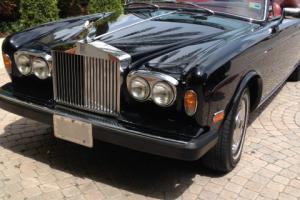 1982 Rolls Royce Corniche Convertible - Modern Classic!