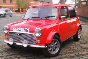 1988 Classic Mini Mayfair, red. 1295cc, TAX