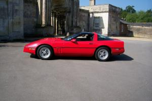 1985 CHEVROLET C4 Z51 EDITION CORVETTE RED . FSH. GENUINE MILEAGE. GREAT CAR