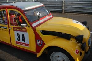 Citroen 2cv Race Car