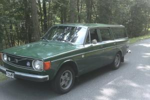 1973 Volvo 145 wagon, low miles, 4 speed w/overdrive, new tires, rare -rust free