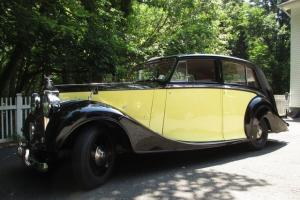 1948 ROLLS-ROYCE SILVER WRAITH FULLY RESTORED SUPERB CONDITION Photo