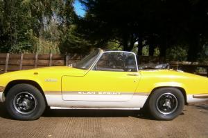 Lotus Elan Sprint DHC 1972  Photo
