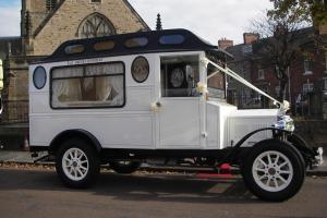 Fleur De Lys Wedding Car