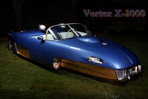 Historic 1962 Vortex Custom Hall of Fame Builder 62 Grand National Roadster Show