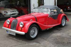 1988 MORGAN 4/4 RED - THE MOST COMPREHENSIVE VEHICLE HISTORY WE HAVE SEEN