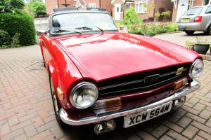 triumph tr6 1974 ( taxfree) Beautiful with lots of useful upgrades