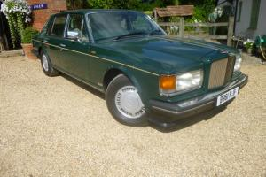 1985 (B) BENTLEY MULSANNE TURBO GREEN