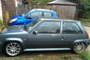 1991 RENAULT 5 GT TURBO GREY  Photo