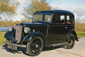 1938 Austin 7 with desirable number plate