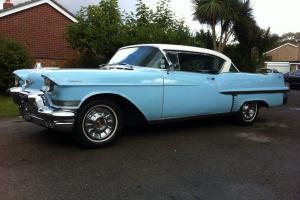 1957 cadillac 2 door coupe