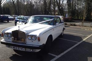 1978 ROLLS ROYCE WHITE/BLUE