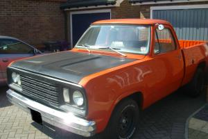 1971 DODGE D100 400 (6.6) V8 ORANGE