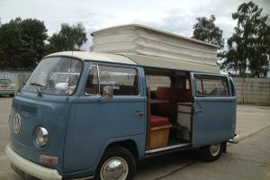 VW VOLKSWAGEN DEVON CAMPER RHD 1968 1 YR ONLY ORIGINAL INTERIOR NOT SPLITSCREEN