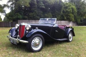 MGTD 1951 One previous owner from new, lovely car May PX