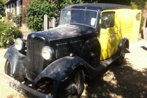 1933 bedford asyc 8cwt van