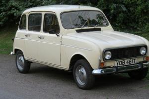 Renault 4TL  Photo