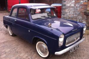 FORD ANGLIA 100E BLUE 1959 1172cc MOT AND TAX EXEMPT CLASSIC CAR