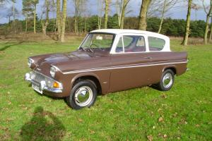 1968 FORD ANGLIA DELUXE 1200, 1 OWNER, 50K MILES, VERY GOOD RUST FREE CONDITION  Photo