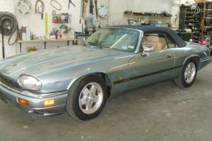 1993 JAGUAR XJ-S CONVERTIBLE AUTO BLUE