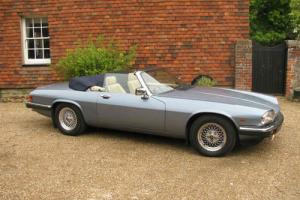 Jaguar XJS convertable automatic with FSH in perfect condition